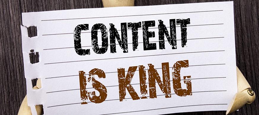 Content management för hemsidor