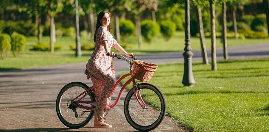 Så skiljer sig en damcykel från andra cyklar